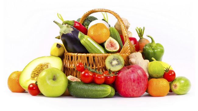 dieta de un dia de frutas y verduras